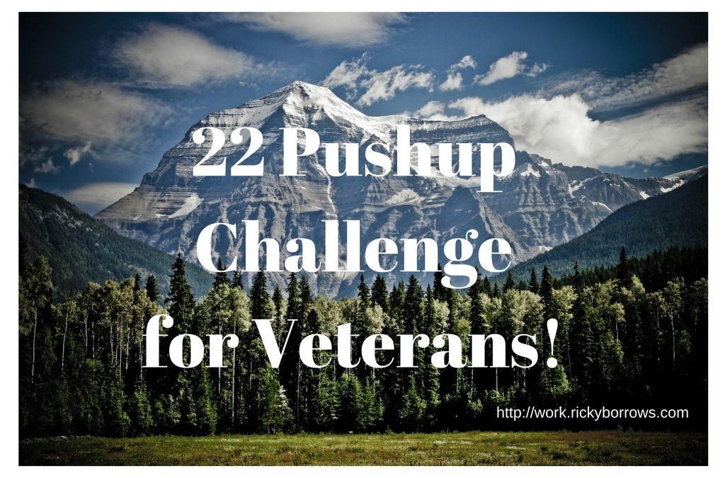 22 Pushup Challenge for Veterans