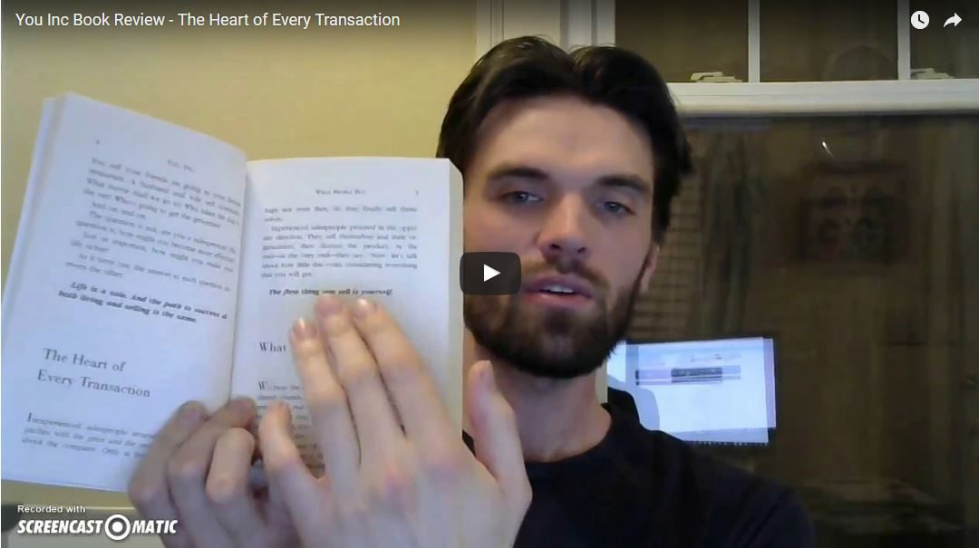 You Inc Book Review – The Heart of Every Transaction
