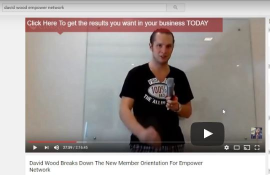 David Wood Review Empower Network Creator
