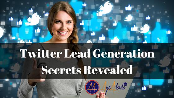 Twitter Lead Generation Secrets Revealed