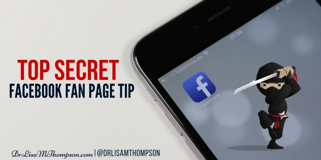 Who Else Wants to Learn a Secret Facebook Fan Page Tip?