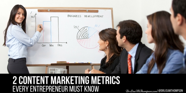 2 Content Marketing Metrics Every Entrepreneur Must Know