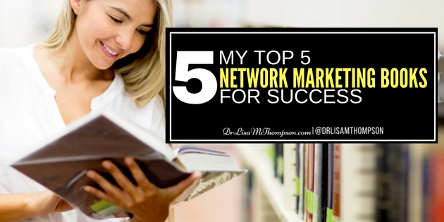 My Top 5 Must Have Network Marketing Books for Success