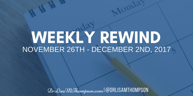 Week in Review: November 26th, 2017 – December 2nd, 2017