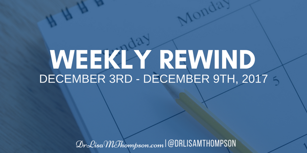 Week in Review: December 3rd, 2017 – December 9th, 2017