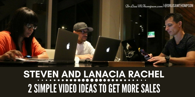 Steven and Lanacia Rachel: 2 Simple Video Ideas to Get More Sales