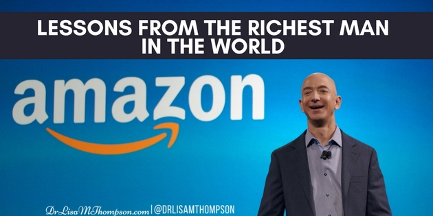 Jeff Bezos: Lessons From the Richest Man in The World