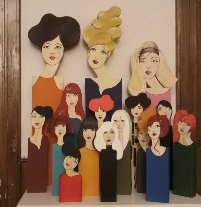 La collection les femmes galantes par Laure C.