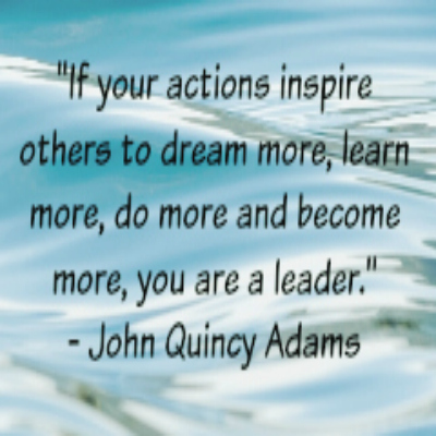 Inspire People With Your Actions