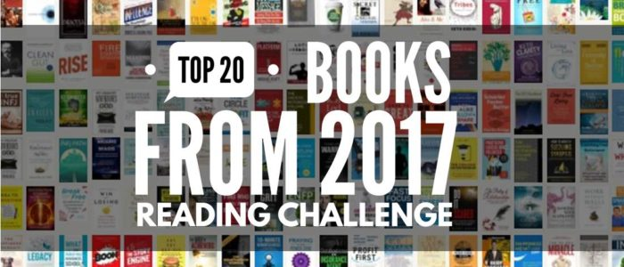 Top 20 Books From 2017 Reading Challenge
