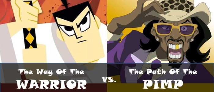 The Way Of The Warrior Vs. The Path Of The Pimp