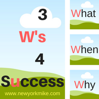 The 3 W's For Your Success in Network Marketing