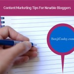 Content Marketing Tips For Newbie Bloggers