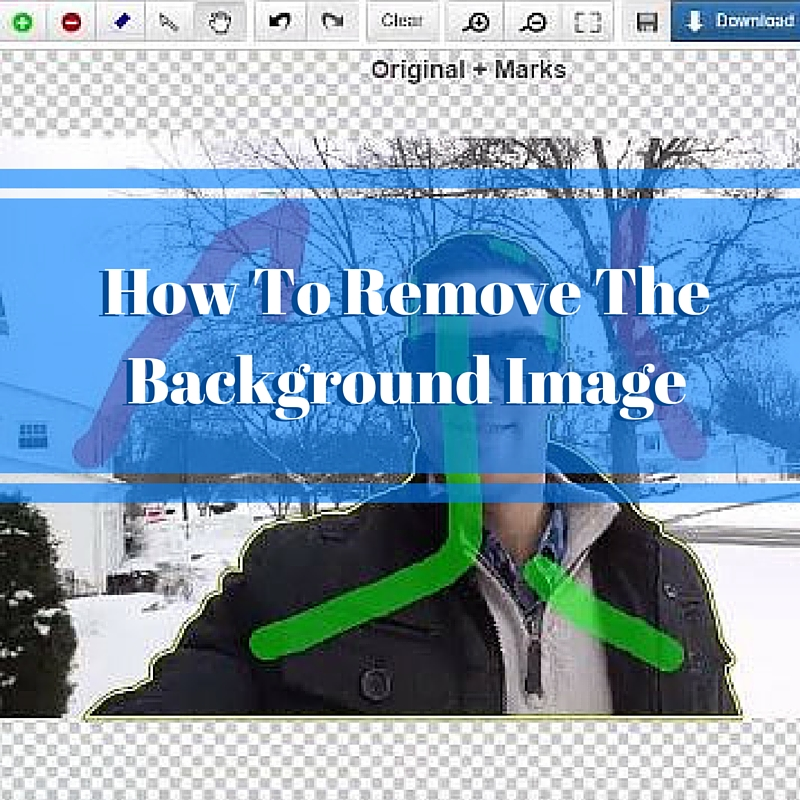 How To Remove The Background Image Instantly
