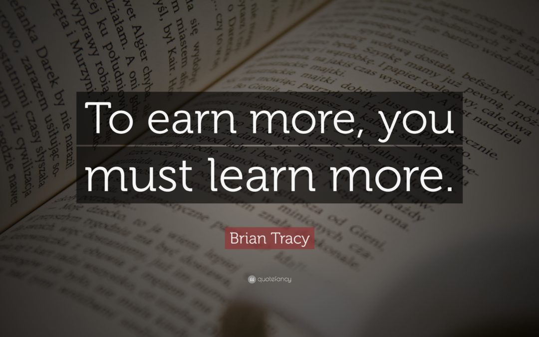 Learners Are Earners