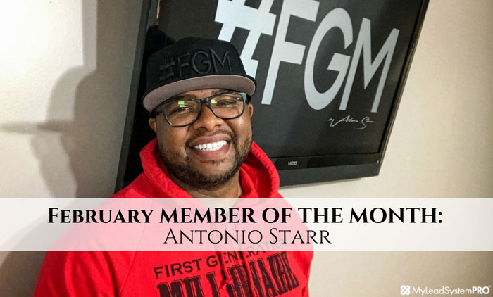 MLSP Member Of The Month… Antonio Starr… Wow!