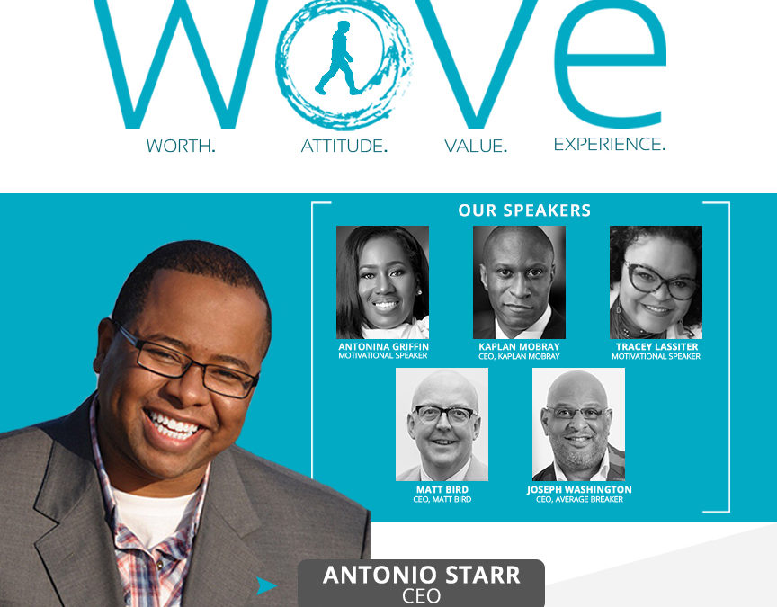 Water Walkers Conference 2017. Antonio Starr Slated As VIP Speaker!