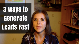 3 Simple Ways to Generate Leads Fast For Your Home Business