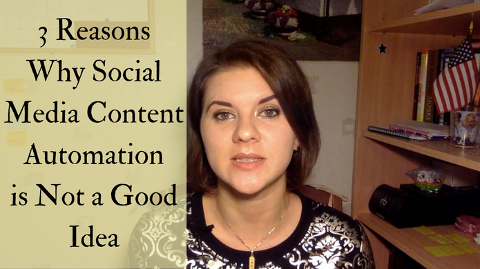 3 Reasons Why Social Media Content Automation is Not a Good Idea