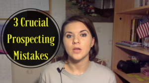 3 Crucial Prospecting Mistakes Most Network Marketers Make