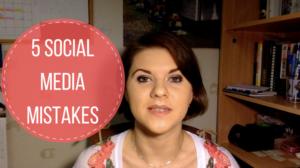 Top 5 Social Media Mistakes You Should Avoid as an Entrepreneur