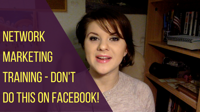 Network Marketing Training – 2 Reasons NOT to Post Your Company Name on Facebook