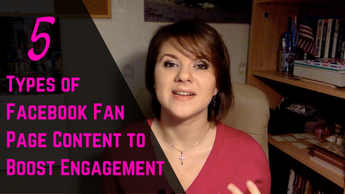5 Types of Facebook Fan Page Content That Will Boost the Engagement