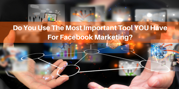 Are You Using The Most Important Facebook Marketing Tool?