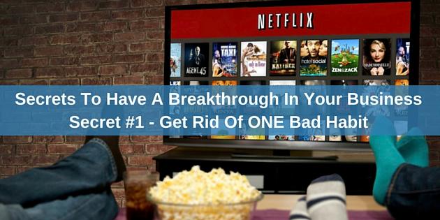 Breakthrough In Your Business Secret #1