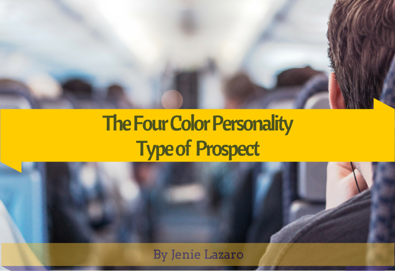 The Four Colors Personality Type of Prospect