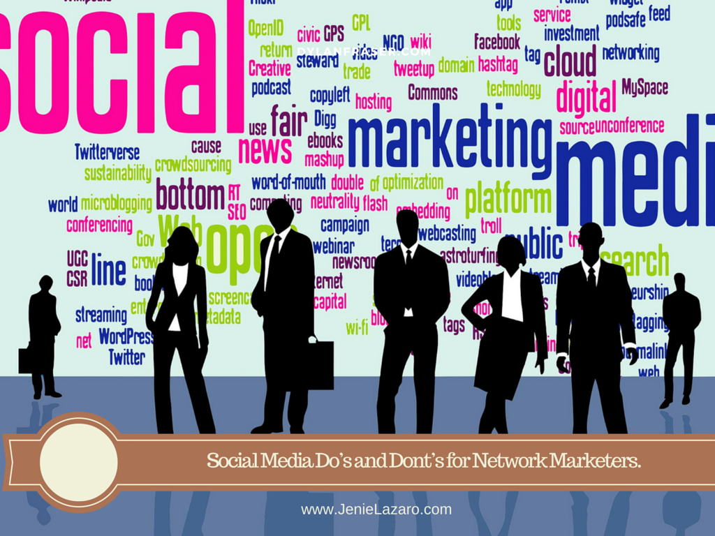 Social Media Do's and Dont's for Network Marketers