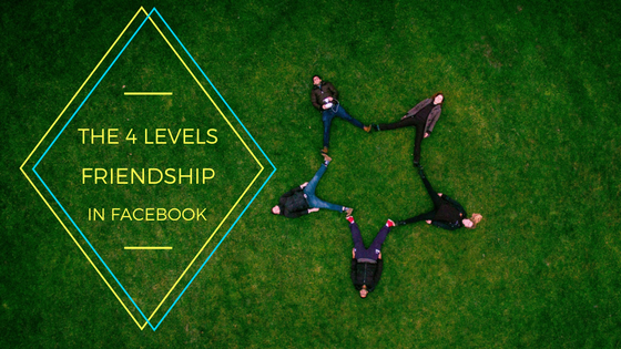The Four Levels of Friendship in Facebook
