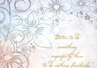 do-something-imperfectly