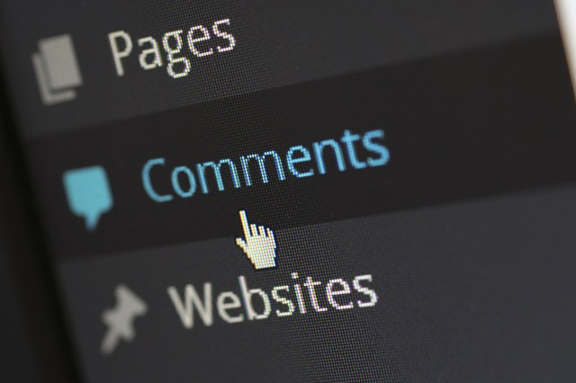 write comments on blogs