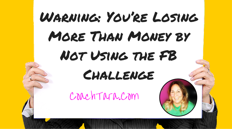 Warning: You're Losing Money by Not Using the FB Challenge