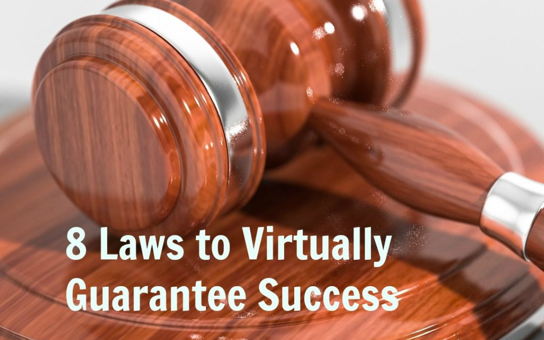 Eight Laws to Virtually Guarantee Success