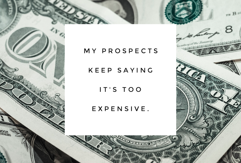 Network Marketing Objections: Its Too Expensive