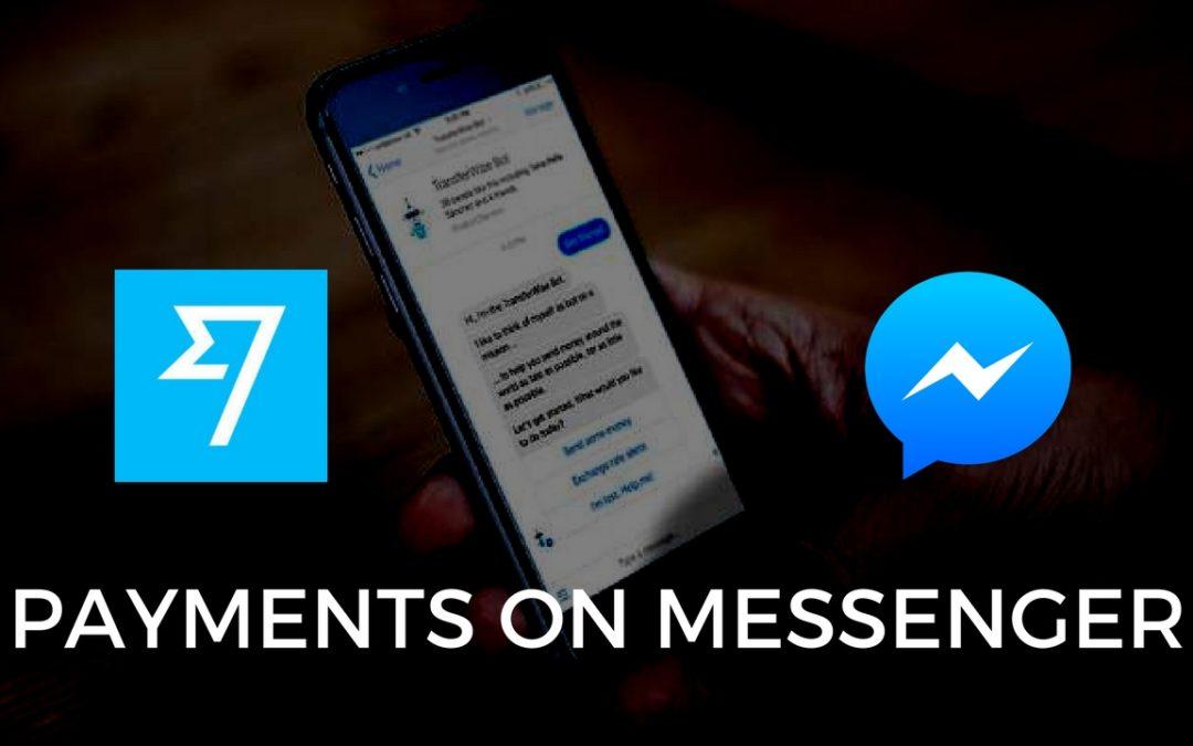 Send money through Facebook!