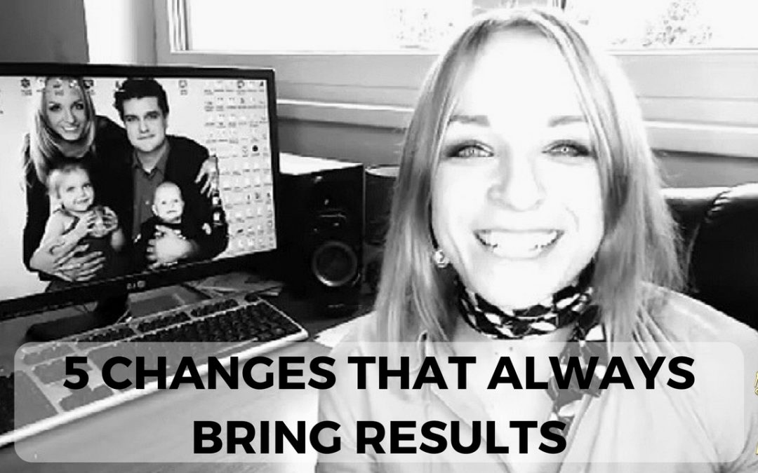 5 Changes That Always Bring Results In Your Network Marketing