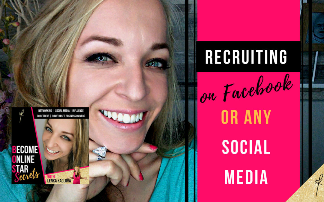 Recruiting on Facebook or any social media