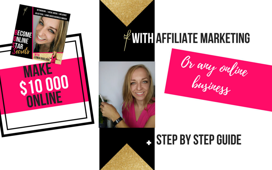How to Make $10 000 Online With Affiliate Marketing
