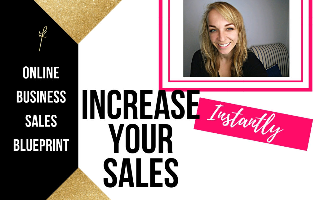 Increase sales in your online business