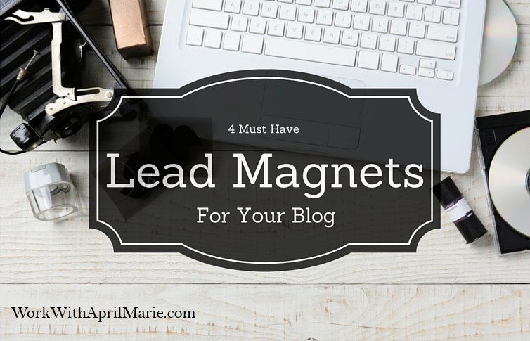 4 Must Have Lead Magnets For Your Blog