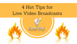 live video broadcasts