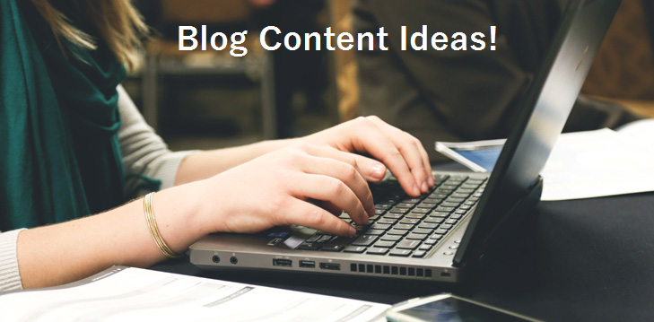 5  Ways To Source Blog Content Ideas For Network Marketers!