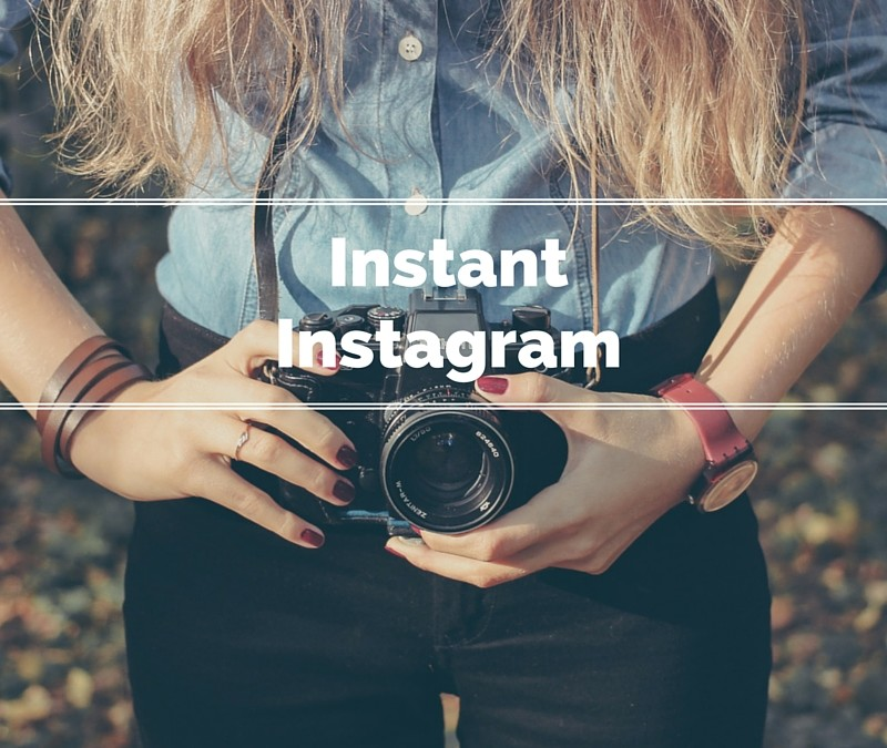 Instantly Grow On Instagram