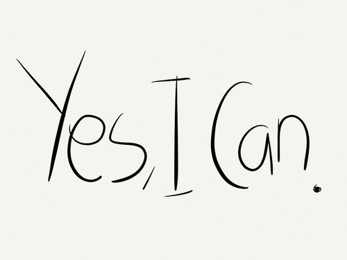 """Yes I Can"" Is The #1 Personal Development Mantra"