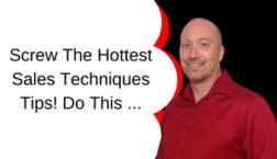 sales techniques tips