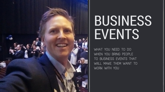 Bring People To Business Events