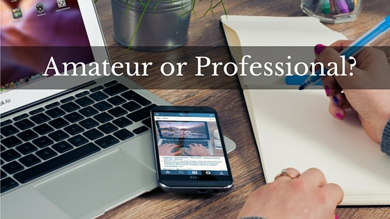 Are You a Network Marketing Amateur or a Network Marketing Professional?